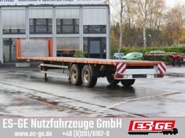flatbed semi trailer Kögel 2-Achs-Sattelanhänger 1999