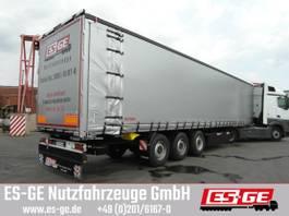 tilt semi trailer Kögel 3-Achs-Cargo-Coil-Pritschensattelanhänger 2017