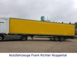 closed box semi trailer Ackermann AS-F 18/13.6 ZL,1.Hand,D-Fzg. Portaltüren 2000