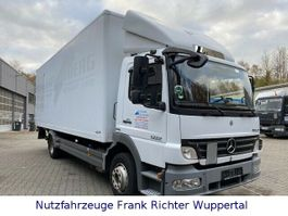 closed box truck Mercedes-Benz 1222 Atego,HU10/21,erst424TKM,neueKupplung,LBW 2010