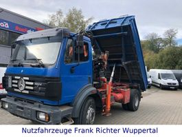 tipper truck > 7.5 t Mercedes-Benz 1824 Kipper, AK 100.1,grünePl.AT-Motor erst 214T 1994
