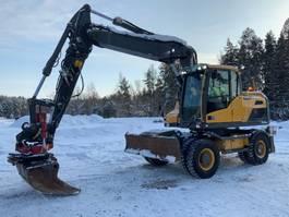 wheeled excavator Volvo EW 160D 2013