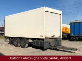refrigerated trailer ROHR Kühlanh/Lbw, durchladbar, Rolltor,4 x vorhanden 2011