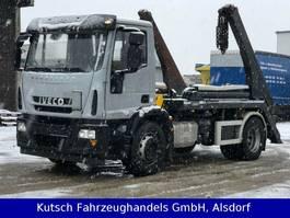 Container-LKW Iveco 180E 28 Tele-Absetzer 2014