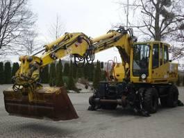 crawler excavator Atlas 1604 ZW 4x4 ZW Zweiwegebagger TOP! 2012