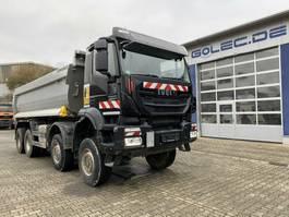 tipper truck > 7.5 t Iveco Trakker 450 AD410TW 8x8 Euro 6 Muldenkipper TOP! 2017