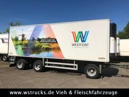 refrigerated trailer Chereau 8,10m Rohrbahn Carrier Maxima 1300 Strom/Diesel 2007