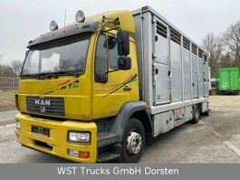 Pferdetransporter-LKW MAN 15.220 Menke Einstock 2006