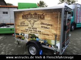 closed box car trailer Böckmann Koffer ,Vermietung ab 27,-€,, 1350kg , 100km/h 2017