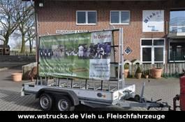 drop side car trailer Böckmann Werbeanhänger , Gestell 1995