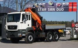crane truck MAN 26.460 6x6 PALFINGER PK 44002 E EURO 4 WINDE 2008