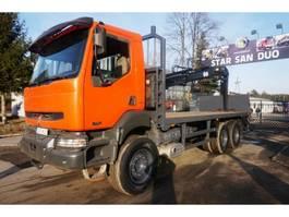 crane truck Renault Kerax 370 dci Hiab 144 BS-3 DUO Kran Cran 2003