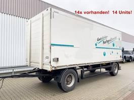 drop side full trailer Orten PRASQ 18 Getränkeanhänger PRASQ 18 Getränkeanhänger, Stapleraufnahme, 1 2014