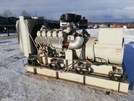 generator Mercedes-Benz OM 423 WITH  GENERATOR TYPE ANSALDO MX 315.