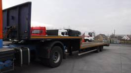 semi lowloader semi trailer Renders Dieplader plateau 2002