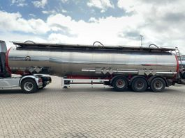 tank semi trailer semi trailer Magyar 3 KAMMER 35.500L ADR VA4 7500+20500+7500L 1996
