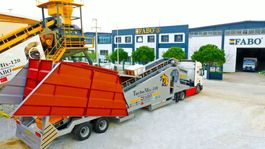concrete batching plant FABO TURBOMİX 110 CE QUALITY NEW GENERATION MOBILE CONCRETE MIXING PLANT 2021