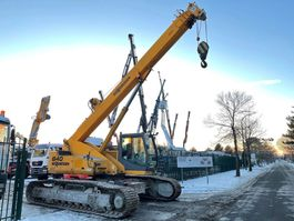 telescopic crawler Sennebogen 640 - 40 Tons - 30m BOOM - RUPS TELESCOOPKRAAN / TELESCOPIC CRAWLER CRANE - 630 R HD - 700mm tracks - 5t counter weight 2005