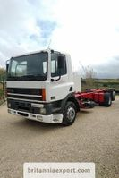 chassis cab truck DAF CF85 380 6X2 26 ton Euro 2 left hand drive. 1998