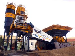Betonmischanlage FABO TURBOMİX 100 CE QUALITY NEW GENERATION MOBILE CONCRETE MIXING PLANT Mobile 2020