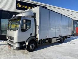 closed box truck Volvo FL serie 260 4x2 2011