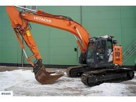 crawler excavator Hitachi ZX225 USLC-5B w / digging bucket WATCH VIDEO 2016