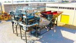 concrete batching plant FABO TURBOMİX 120 NEW DESIGN MOBILE CONCRETE BATCHING PLANT IN ALL CAPACITIES 2021