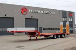 Satteltieflader Auflieger Hangler 3-axle machinery trailer