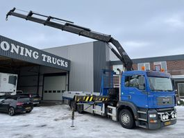 crane truck MAN tga 26.310 only 204.000 km !!! hiab 350-4 radiocontrol 26.310 2003