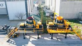 crusher FABO VSI-900 VERTICAL SHAFT IMPACT CRUSHER   SAND MACHINE 300 TPH 2019