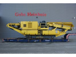 Brecher Keestrack Galleon Cone Crusher Only 170 Hours Like New! 2016