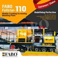crusher FABO FULLSTAR 110Crushing, Washing And Screening  Plant 2021