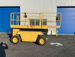 scissor lift wheeld Grove SM 3269 XT, Schaar Hoogwerker 4x4, Diesel 1998