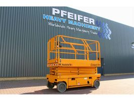 scissor lift wheeld Haulotte COMPACT 10 Electric, 10m Working Height, Non Marki 2007
