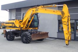 wheeled excavator JCB JS 130 W 2002