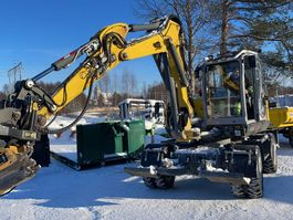 wheeled excavator WACKER NEUSON EW100 2018