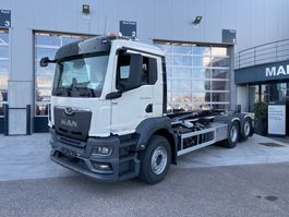 container truck MAN TGS 26 6x2-4 BL-NN New Generation AJK containerhaak 2021