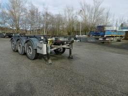Fahrgestell Auflieger Fliegl 3 Achs Container Chassis 20Fuss  Alufelgen 2014