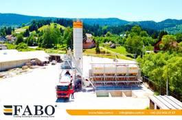 concrete batching plant FABO FABOMIX COMPACT-110 NEW GENERATION CONCRETE PLANT 2021