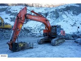 crawler excavator Hitachi ZX300LC-6 Excavator with GPS, Montabert CPA-250 Dr 2016