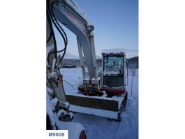 crawler excavator Takeuchi TB175 with only 5504 hours and 3 buckets 2005
