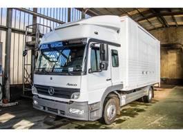 closed box truck Mercedes-Benz Atego 1324 L - 69 195 KM 2007