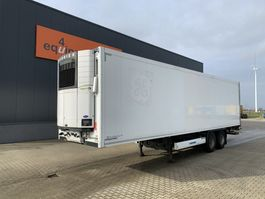 refrigerated semi trailer Krone 2-axle reefer, Carrier Vector 1550 D/E, taillift 2.000kg, NL-trailer, APK: 10/2021 2011
