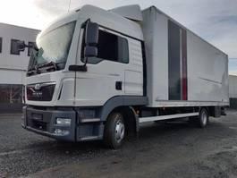 closed box truck MAN TGL 8 Euro6 2014