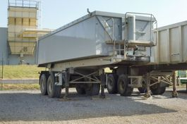 tipper semi trailer Langendorf SK 20 A - 23,5 M3 ALUMINIUMKIPPER - 2 ASSEN - LIFTAS - PERFECTE STAAT