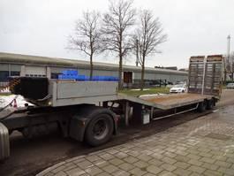semi lowloader semi trailer Kaiser Double Hydraulic Ramps - Winch - Truck/Machine transport 1991