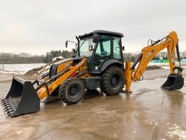 backhoe loader Case 770EX-SS - Hammerlines / unused 2019