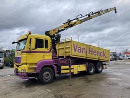 tipper truck > 7.5 t MAN TGS 28.440 6X2 BL Kipper-Kraan Hiab 166 ES-4 ( TOP ) 2010