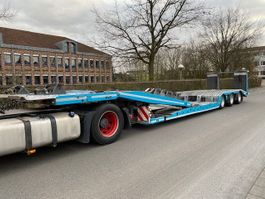 Tieflader Auflieger FVG TA 36-LKW Autotransporter voll Verzinkt/lenk/PBW 2008
