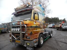 cab over engine Scania 113 trekker 1992